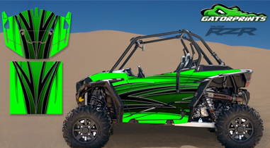 gatorprints polaris rzr decals